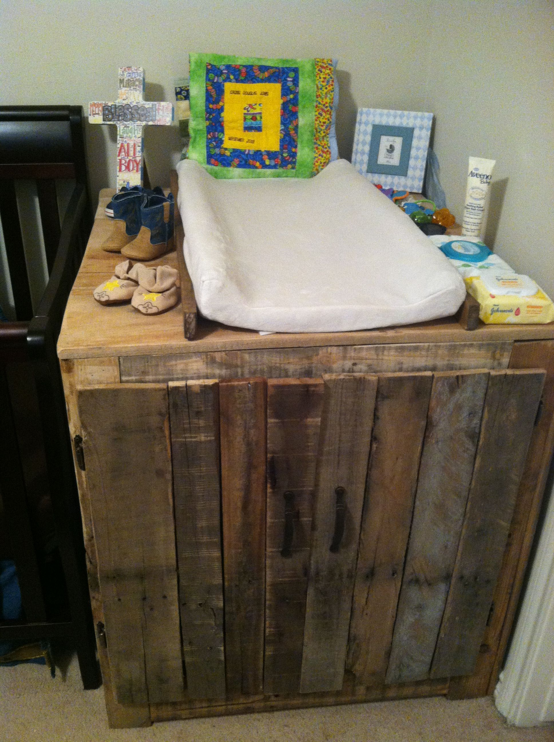 Changing Table Of Pallets. Home