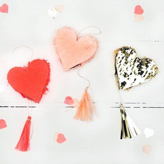 Wedding Favours Table Favours Favors Heart Shaped Mini Pinata Table