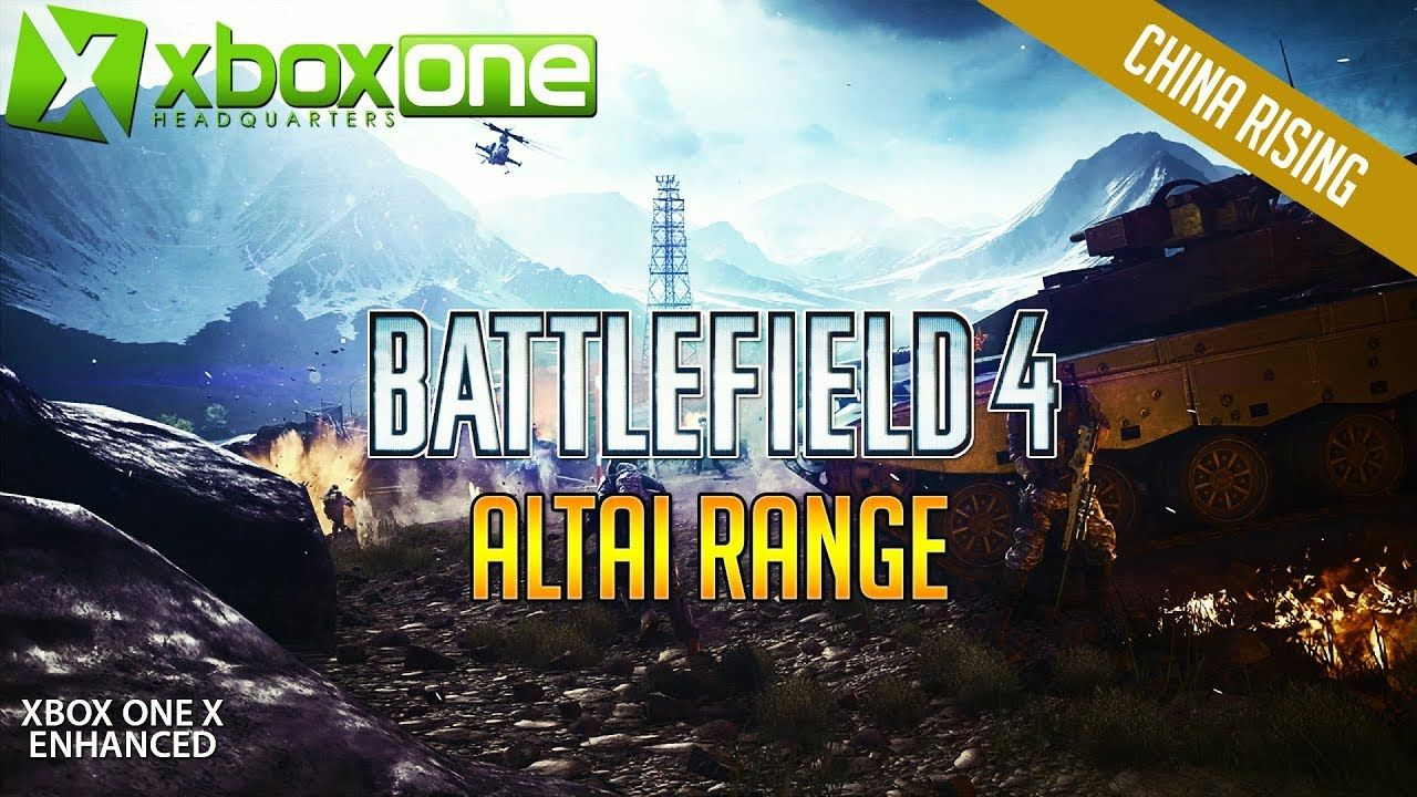 Xboxone 4k Battlefield 4 Bf4 Xbox One X Multiplayer Gameplay