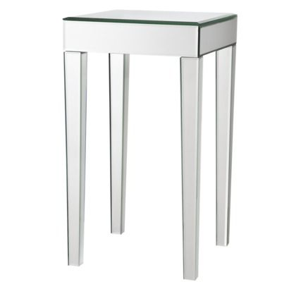 Mirrored Side Table Mirror, Narrow Mirrored Side Table