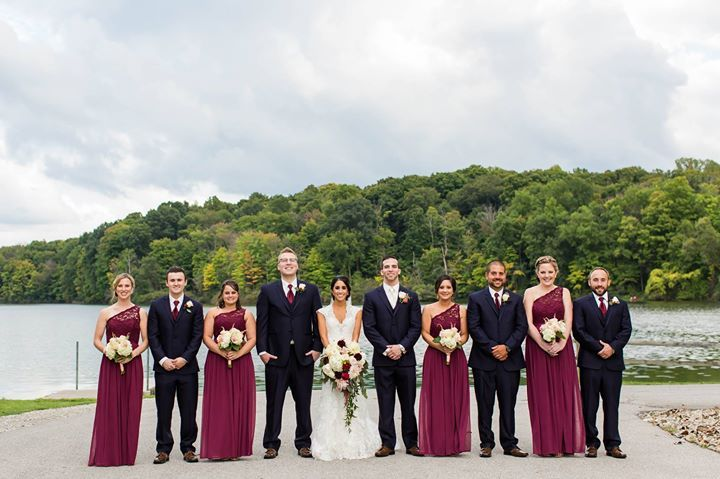 To view more of this navy and burgundy fall wedding at Kent State University wedding in Ohio click here: http://ift.tt/2dpzjDl  WEBSITE: http://ift.tt/1iD3hmf BLOG: http://ift.tt/1FsLh90