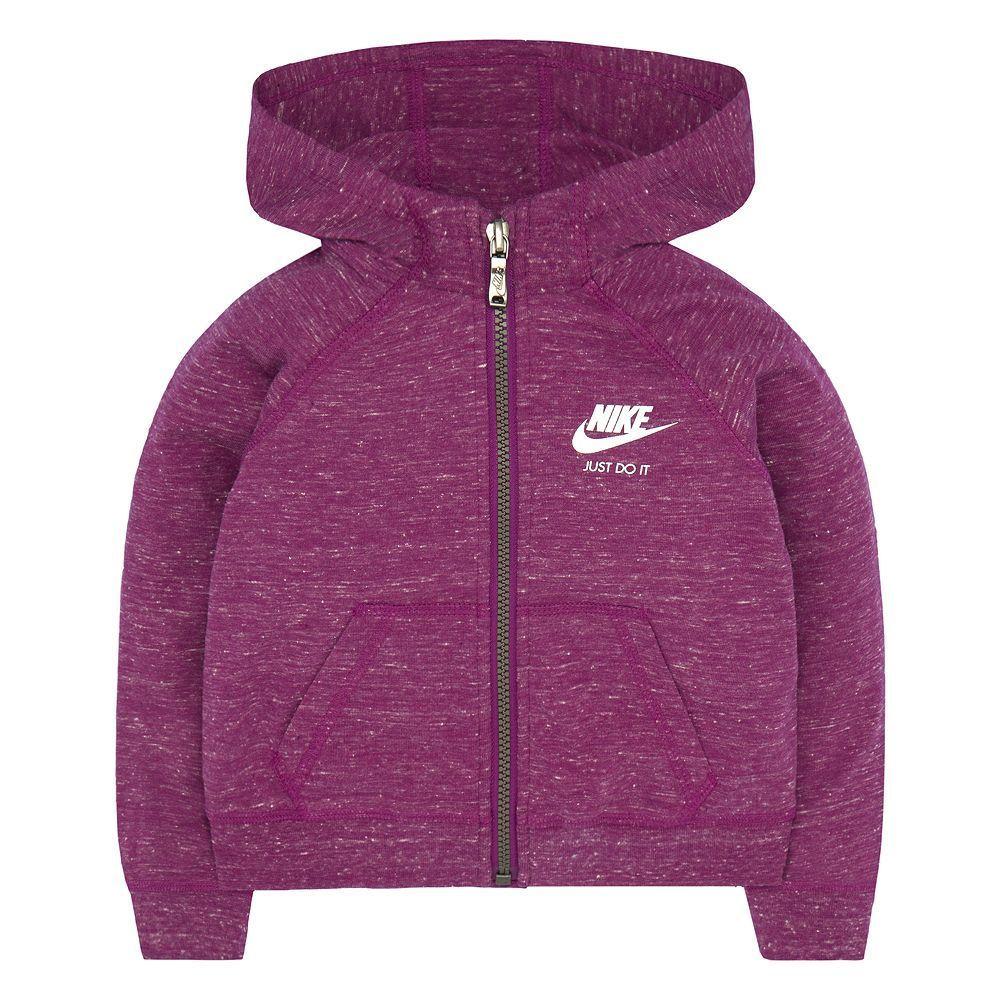 8a81c196f38b Toddler Girl Nike Gym Vintage Zip-Up Hoodie