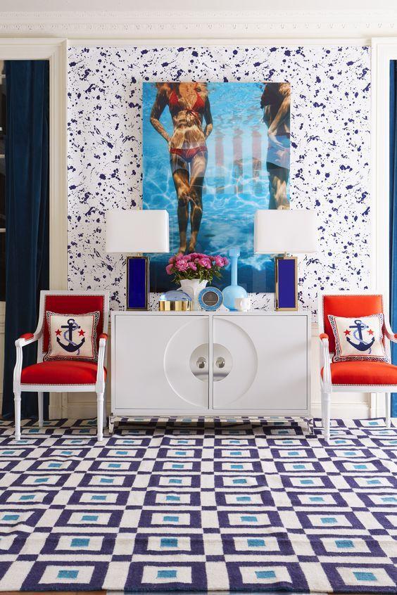 12 recibidores con estilo jonathan adler and interiors - Recibidores con estilo ...