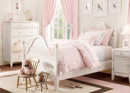 Landhaus, Kinderzimmer, Rosen, Einrichtung, Garten, Mädchen Schlafzimmer  Rosa, Weiße Mädchenzimmer, Mädchenzimmer (jung), Kleine Mädchen