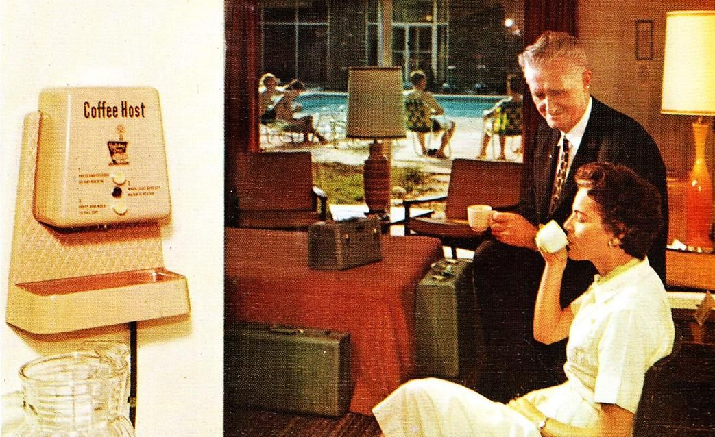 Holiday Inn S Coffee Host 1960s Guests Could Enjoy A 4 Ounce