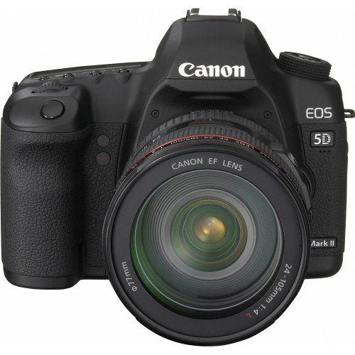 Canon Eos 5d Mark Ii 21 1mp Full Frame Cmos Digital Slr Camera Body Only Canon Http Www Amazo Canon Digital Slr Camera Digital Photography Review Canon Eos