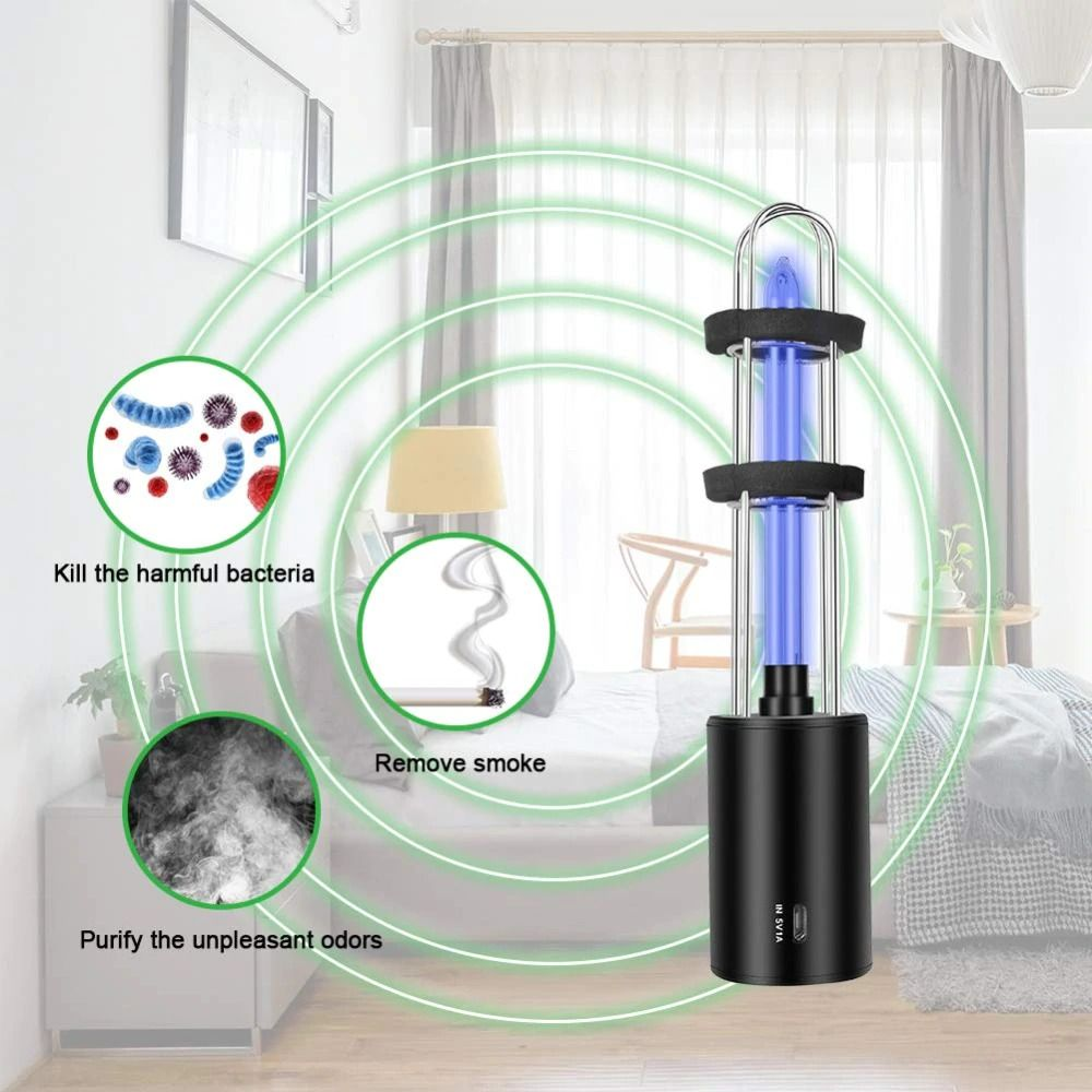 Rechargeable Uv Sterilizer Light Tube Bulb Disinfection Tools