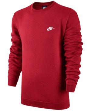Billig Nike Sportswear Sweatshirts Herren Air Fleece Crew