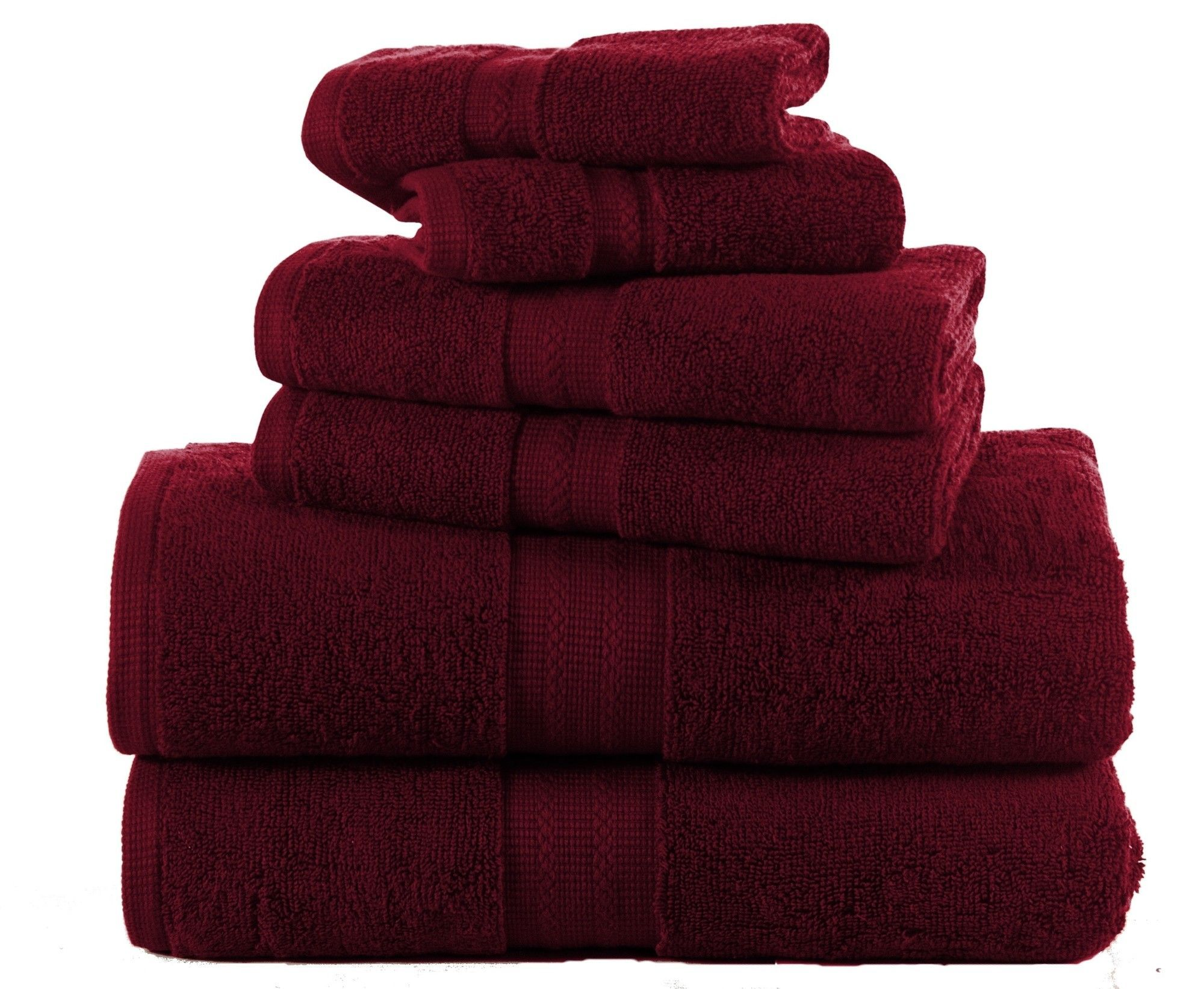 Bano Senses 600 GSM Egyptian Quality Cotton 6 Piece Towel Set