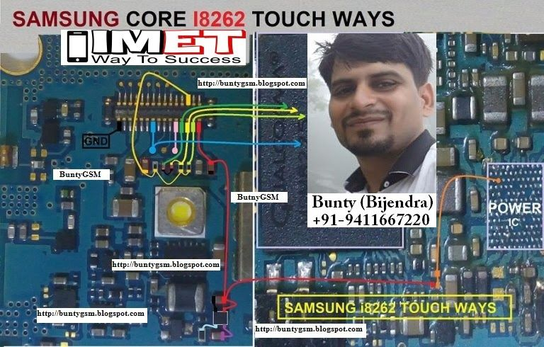 Samsung I8262 Touch Screen Not Working Problem Solution