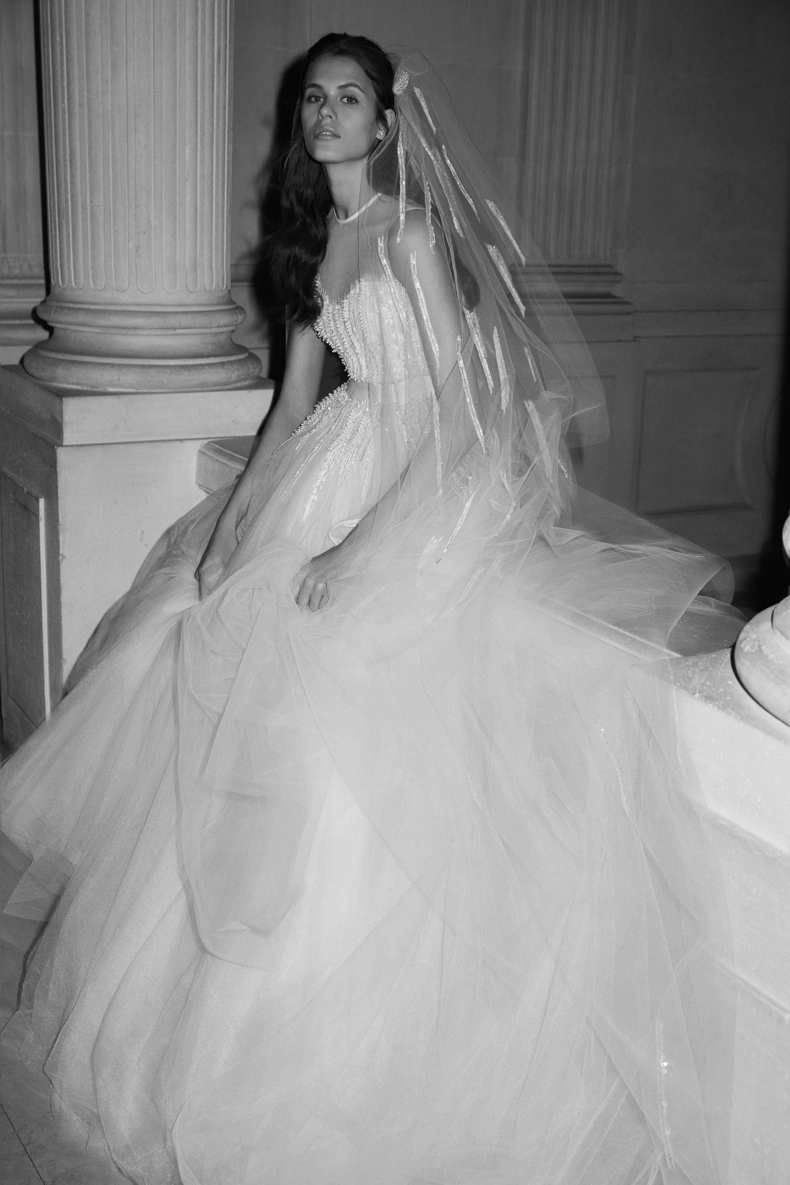 66bd8441d1f0 Elie Saab Bridal Spring 2019 Fashion Show | Bridal Spring 2019 ...