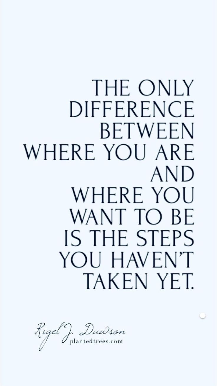 Take the next step, just believe