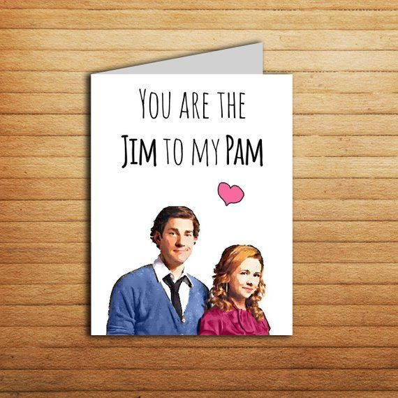 The Office Tv Show Card Anniversary Card Printable You Re The Jim