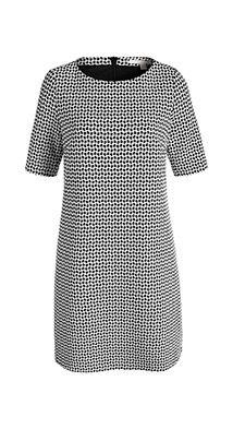 Esprit / Shift-kjole med halve ærmer