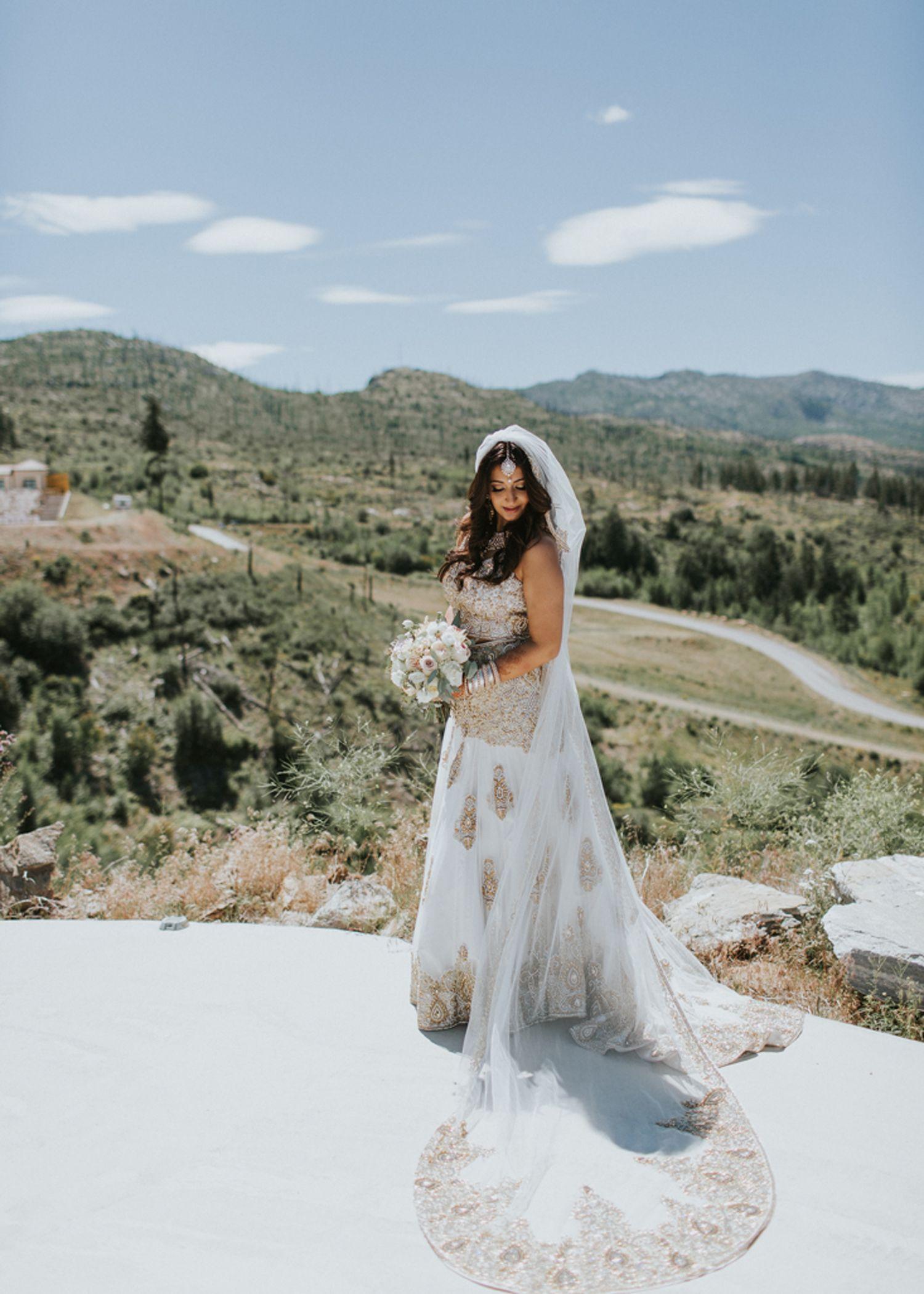 Cultures Unite At A Fusion Wedding In Kelowna Kelowna Wedding Okanagan Wedding Long Beach Wedding Dresses Bridal Gowns Mermaid Wedding Dresses