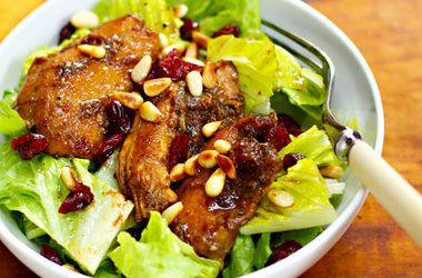 Slow Cooker Pomegranate Chicken Salad