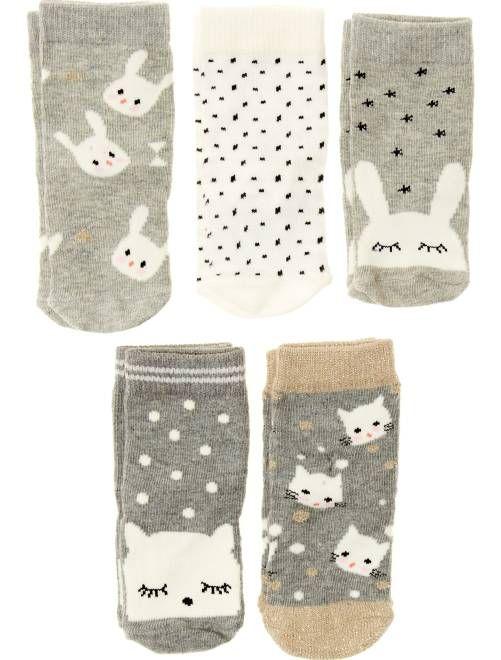 save off low cost exclusive range Lot de 5 paires de chaussettes | Baby Cookie en 2019 ...