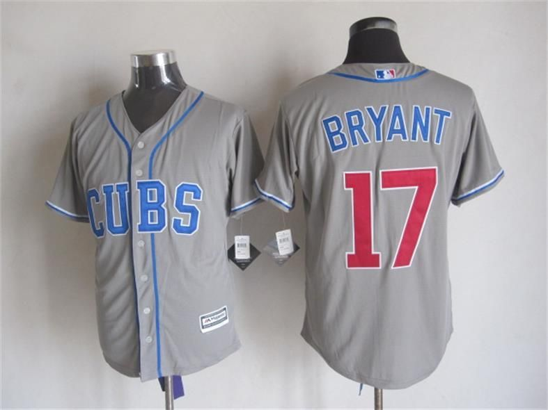 Chicago Cubs #17 Kris Bryant 2014 Gray Jersey