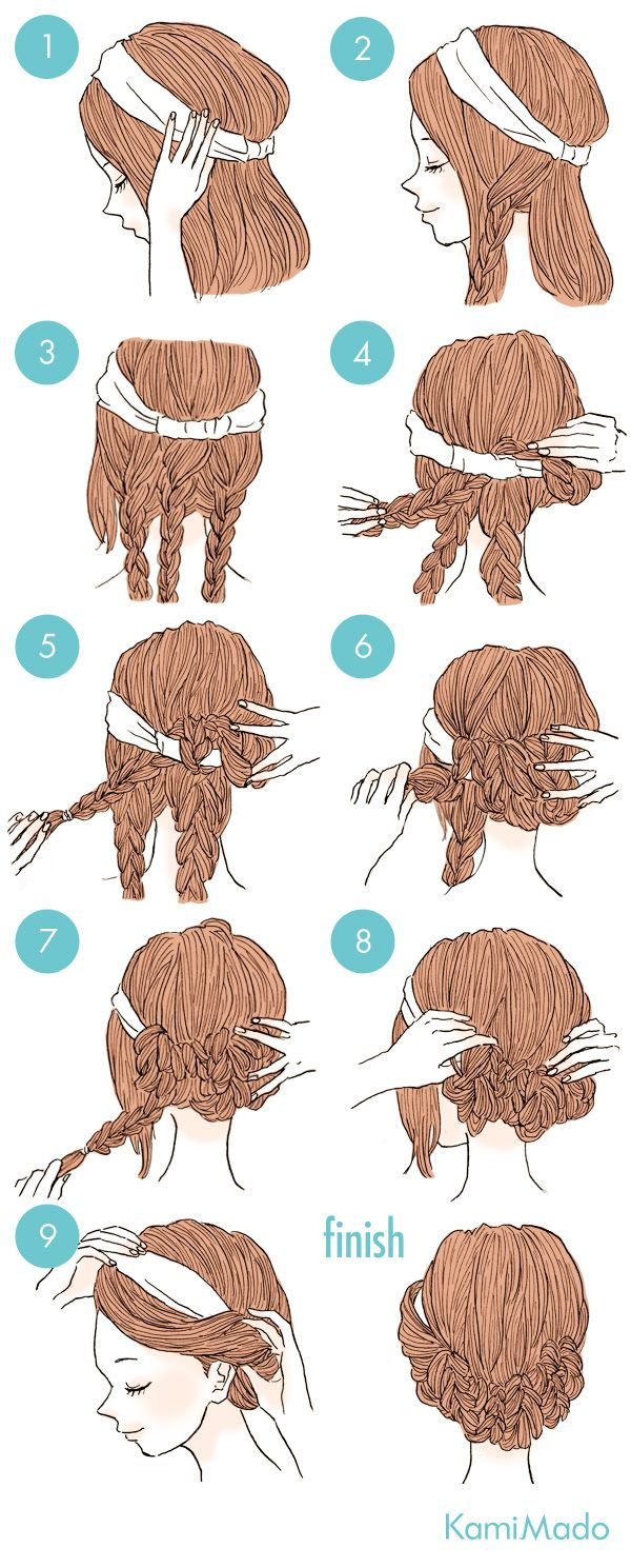 Passaneura Manutenção Tutorial de penteado estilo