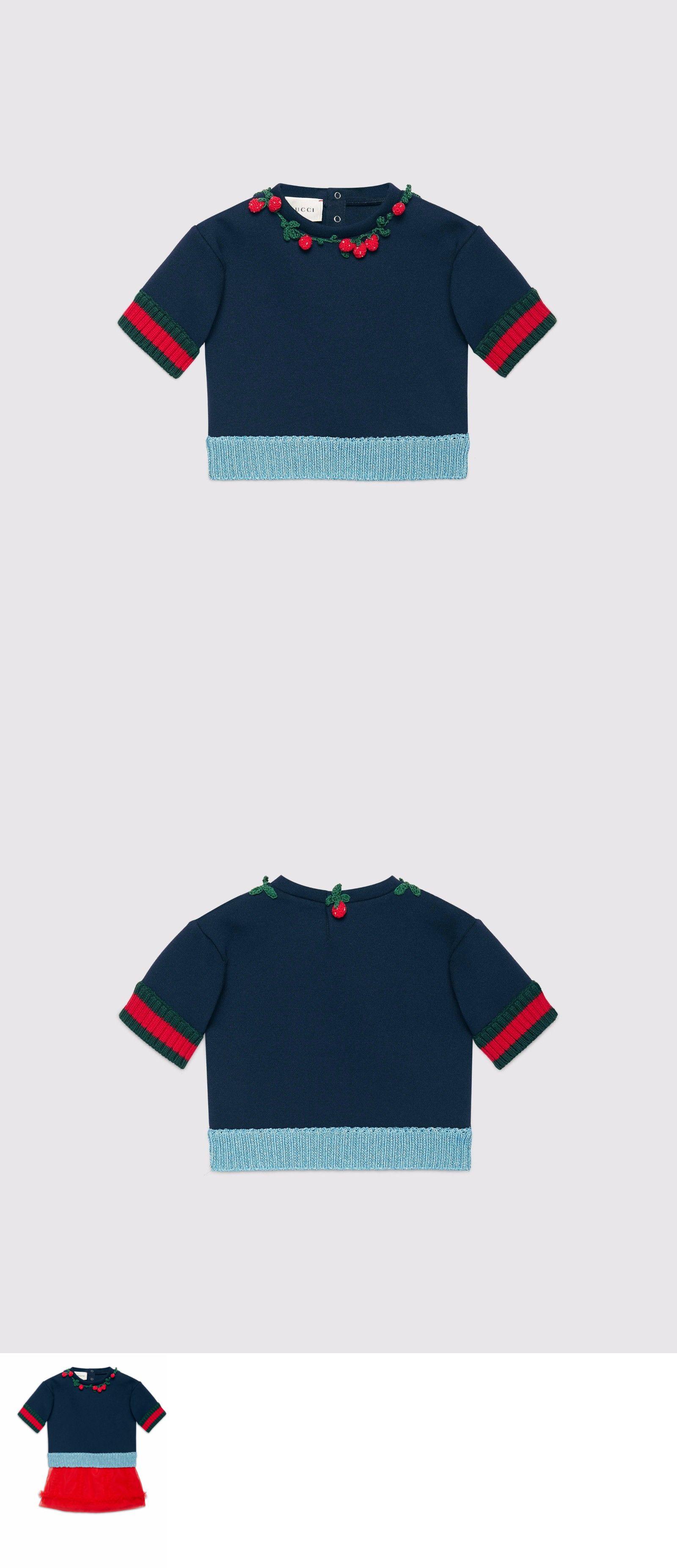 78391f1fcf2a Sweaters 147216  Nwt New Gucci Baby Girls Navy Blue Sweatshirt 9 12M ...