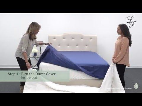 The Effortless Way To Put On A Quilt Cover Youtube Luxury Bedding Master Bedroom Quilt Cover Bed Quilt Cover