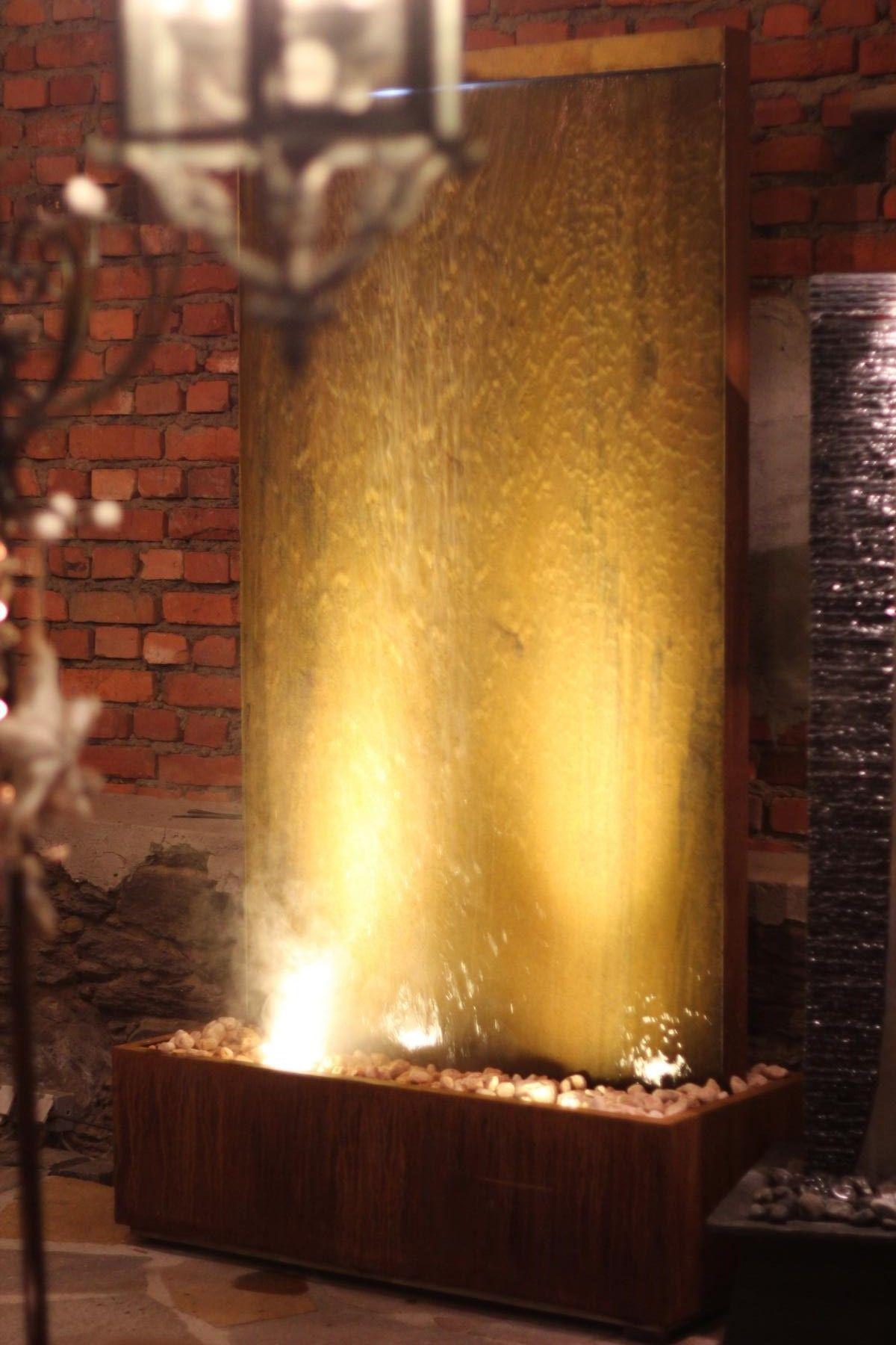 Gigant Wasserwand Cordon Cortenstahl Zimmerbrunnen Brunnenschmiede De Wasserwand Garten Zimmerbrunnen Wasserwand