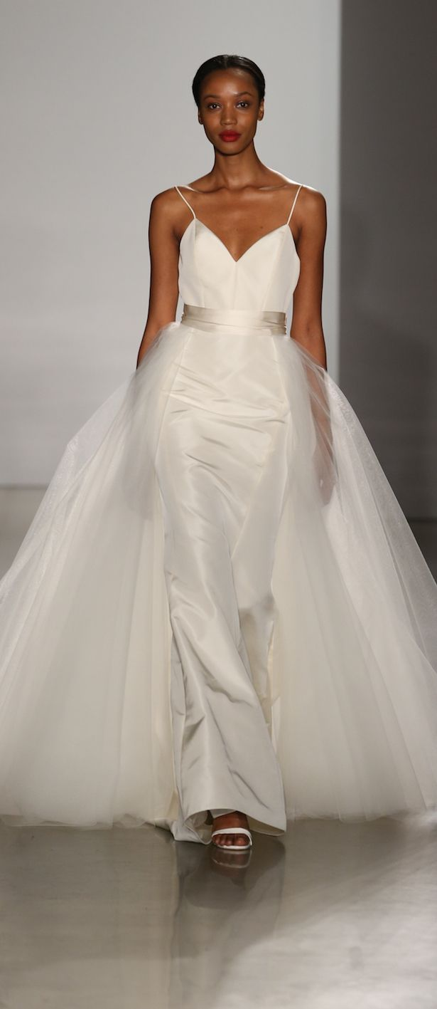3782a73de Amsale - Darcy (no overskirt) @ Town & Country Bridal Boutique - St. Louis,  MO - www.townandcountrybride.com