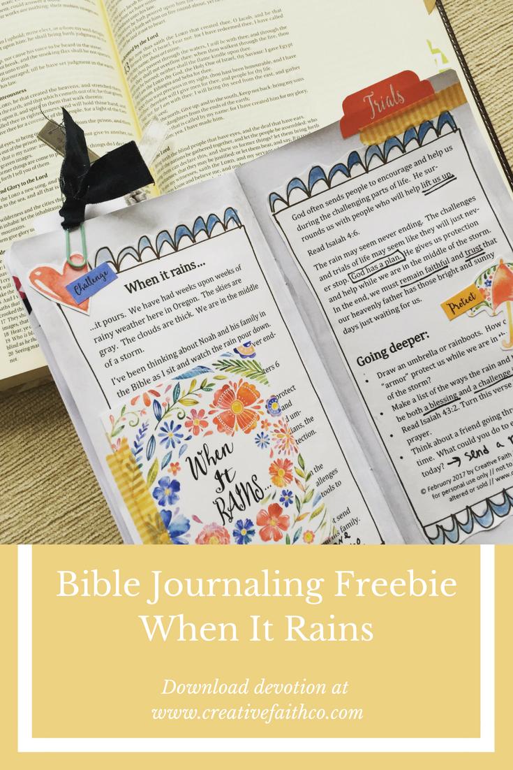 Pin On Bible Journaling Freebies