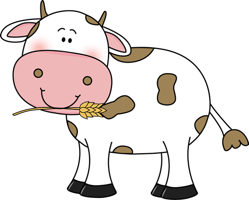 free cow clip art cow with wheat in its mouth clip art image rh pinterest com free cowboy clip art free crow clip art
