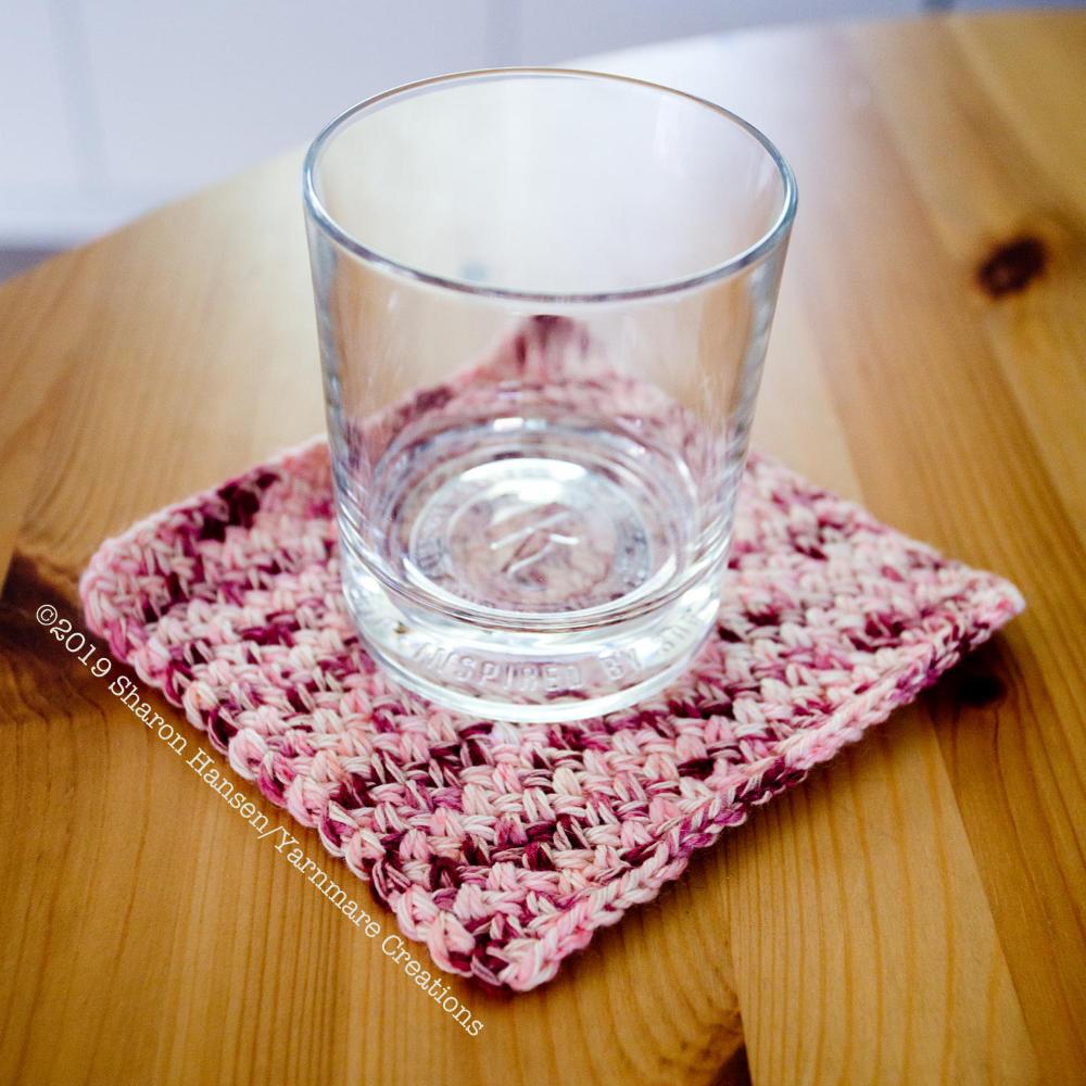 Knit Drink Napkins #papernapkins