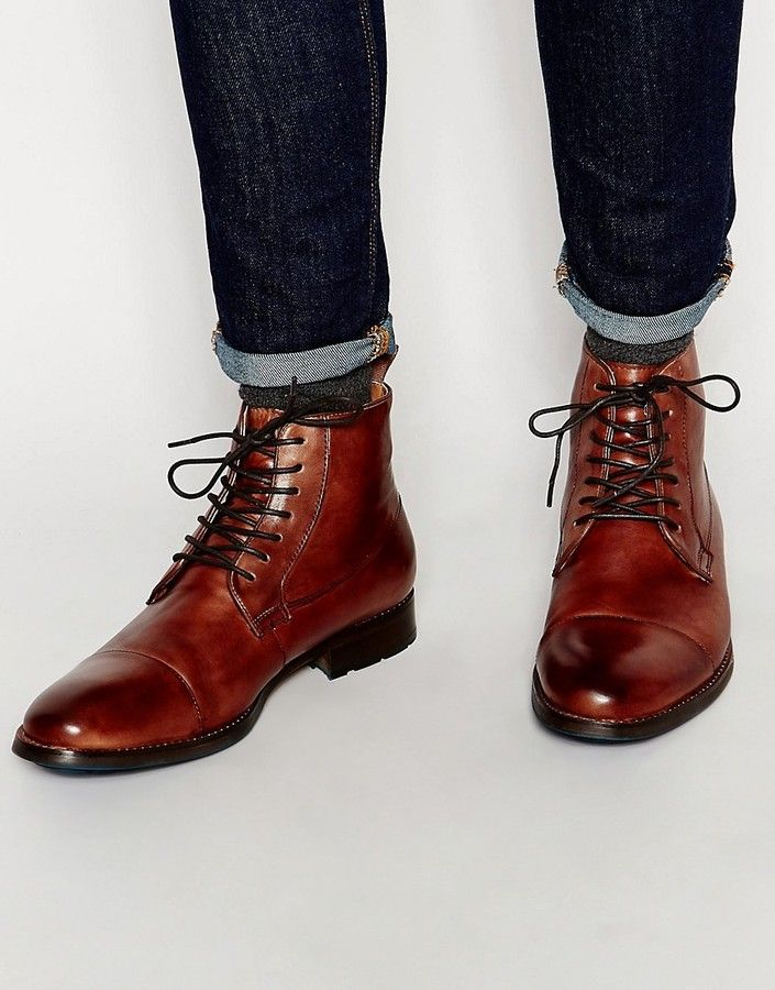 ALDO Asodda Leather Derby Boot   Mens boots fashion, Mens smart shoes, Boots