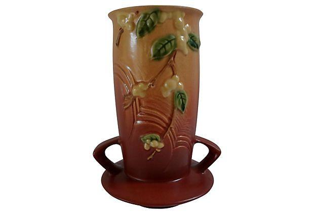 Roseville Snowberry Vase, 1947 on OneKingsLane.com