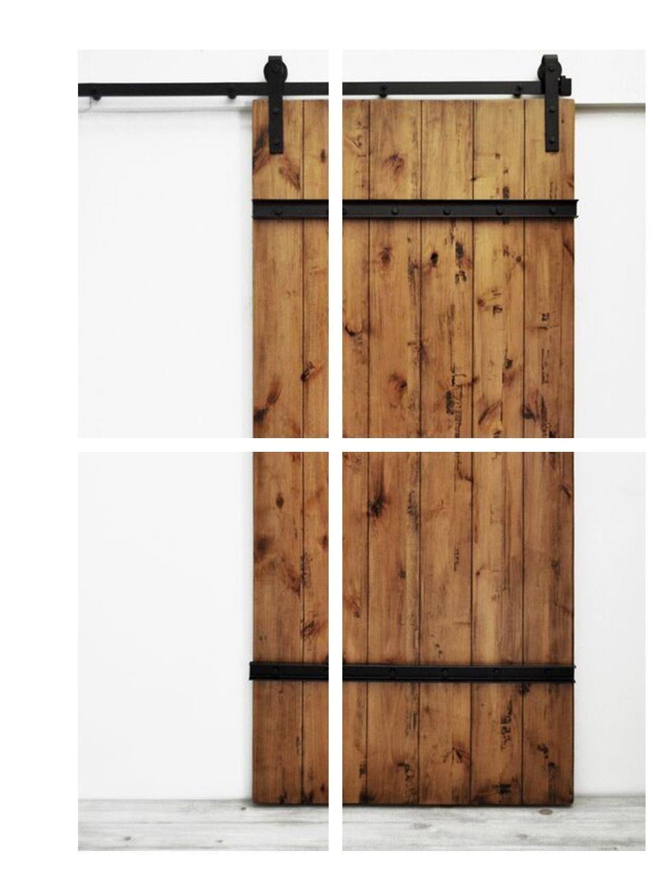 Flat Panel Interior Doors Patio Doors 4 Foot Wide Interior Door With Images Interior Barn Doors Glass Barn Doors Barn Doors Sliding