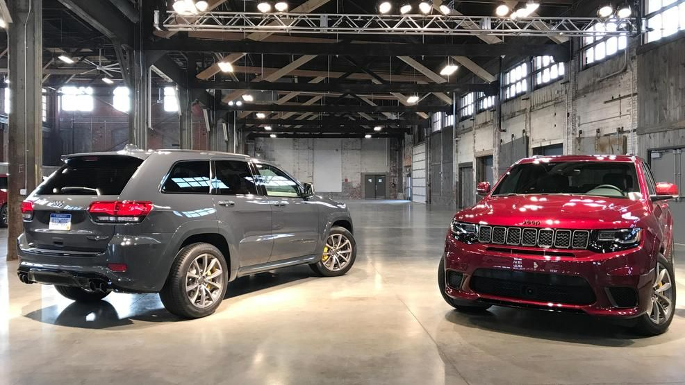 2018 Jeep Grand Cherokee Trackhawk A Track Ready Tow Possible Suv First Look Jeep Grand Cherokee Jeep Grands