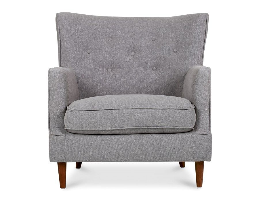399 Structube Laurens Armchair Grey Armchair Grey