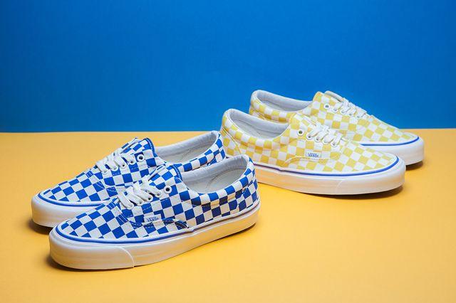 vans-era-og-lx-checkerboard-2 | sneakers | Sneakers, Vans, Sneaker ...