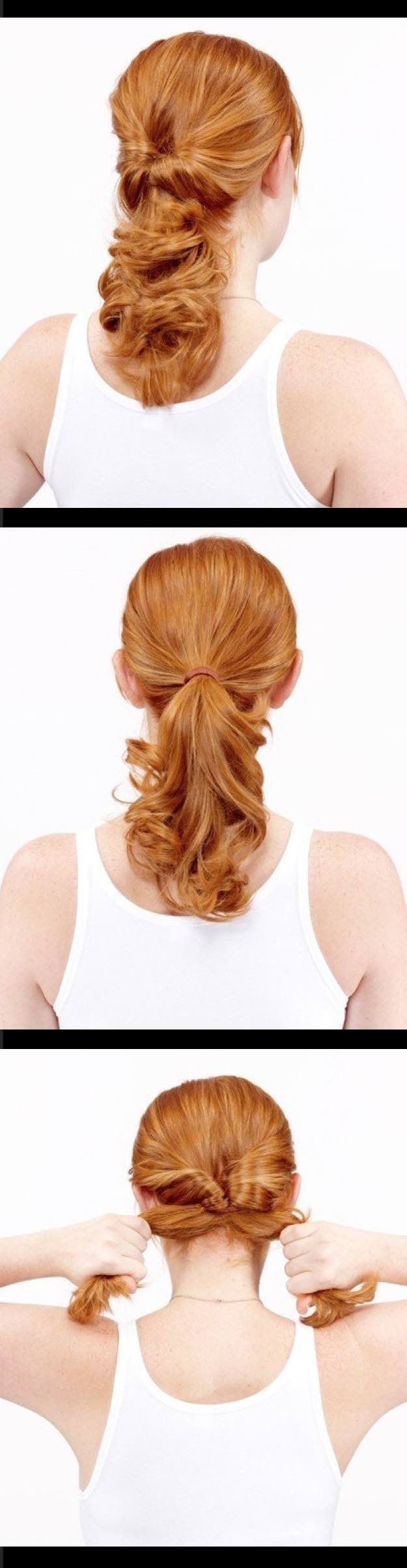 Easy hairstyles for work topsy tail quick and easy hairstyles
