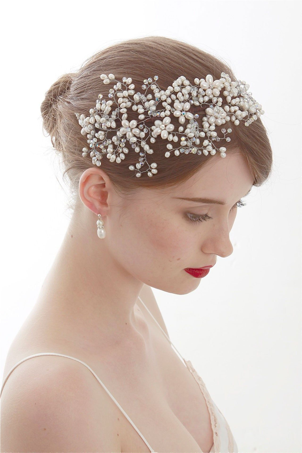 wedding hair accessories - bridal accessories (bridesmagazine.co