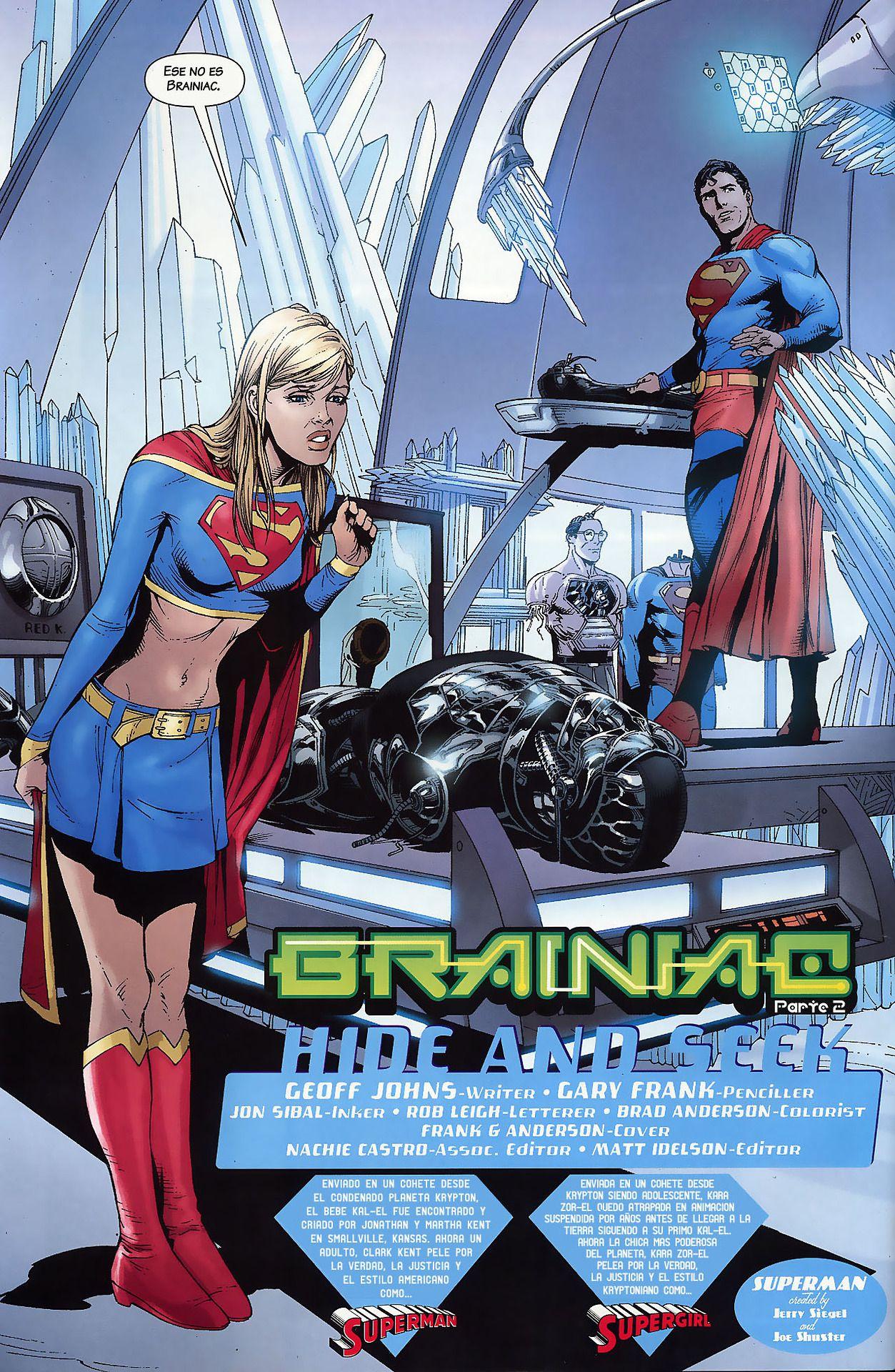 Supergirl Burning Series