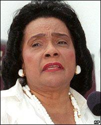 Coretta Scott King (file photo, 2000)