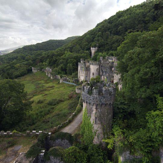 Gwrych Castle, Conwy,