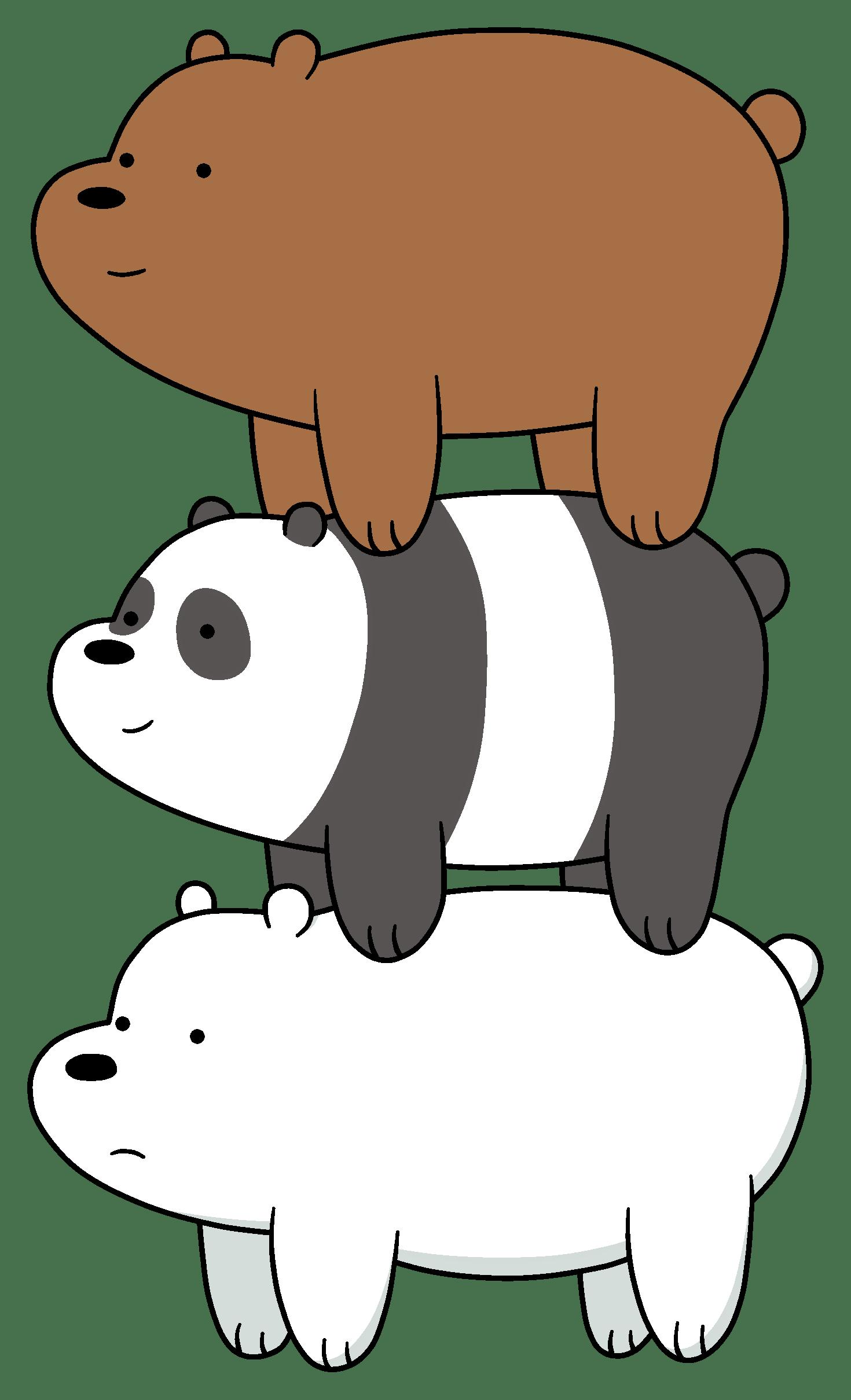 Pin By Kimberlyn Betancourt On Escandalosos We Bare Bears Wallpapers Bare Bears Cute Panda Wallpaper
