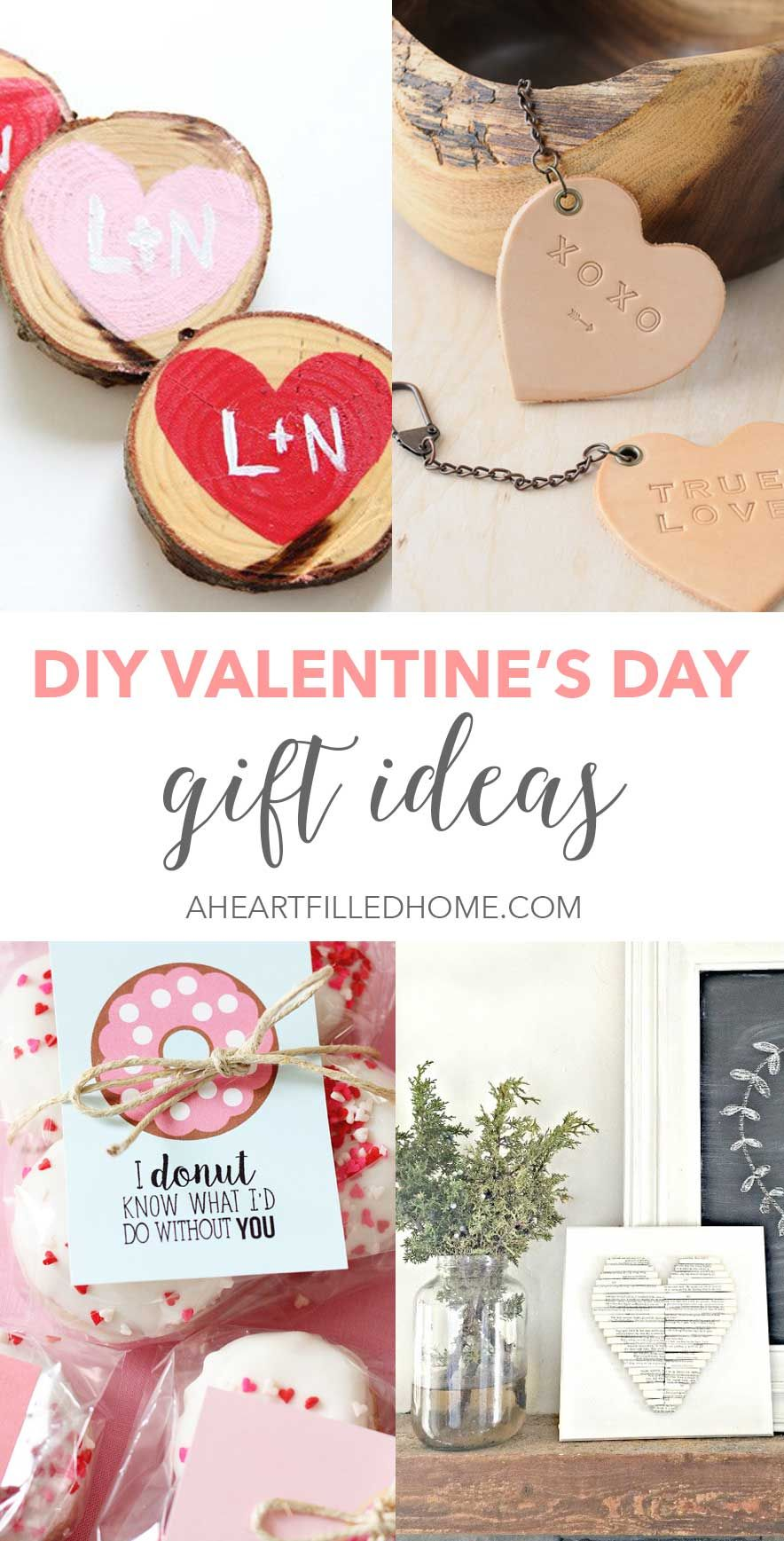 DIY Valentine\'s Day Gift Ideas (A Heart Filled Home | Home-made ...
