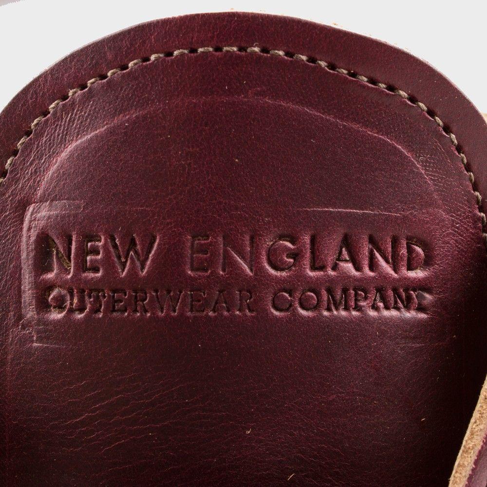 New England Outerwear Quarter Boot Burgundy CXL Crepe