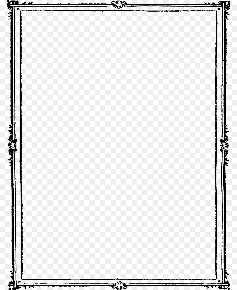 Png Frame Black And White Clip Art Frames Borders Black And White Frames Doodle Frame