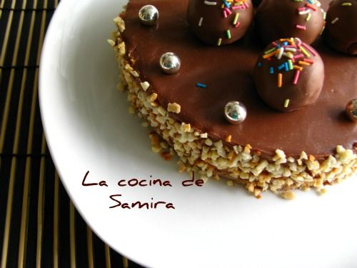La cocina de Samira: Tarta mousse de Nutella