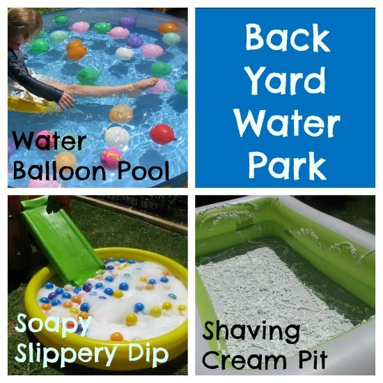 Back Yard Water Park