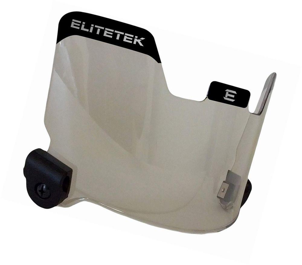 Elitetek football lacrosse eyeshield visor mirrored