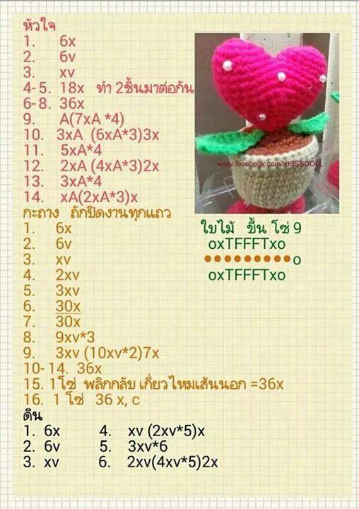 Pin de AomSin Chutima en Crochet | Pinterest | Amirigumi, Patrones ...