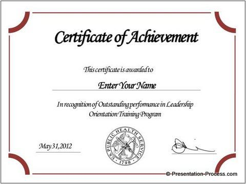 free certificate templates ,free printable certificates - certificate of attendance template free download